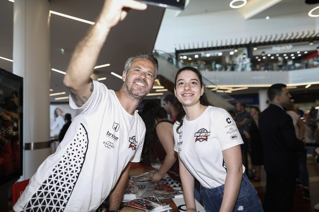 autograph session during the 2018 FIA WTCR World Touring Car cup of Portugal, Vila Real from june 22 to 24 - Photo Francois Flamand / DPPI