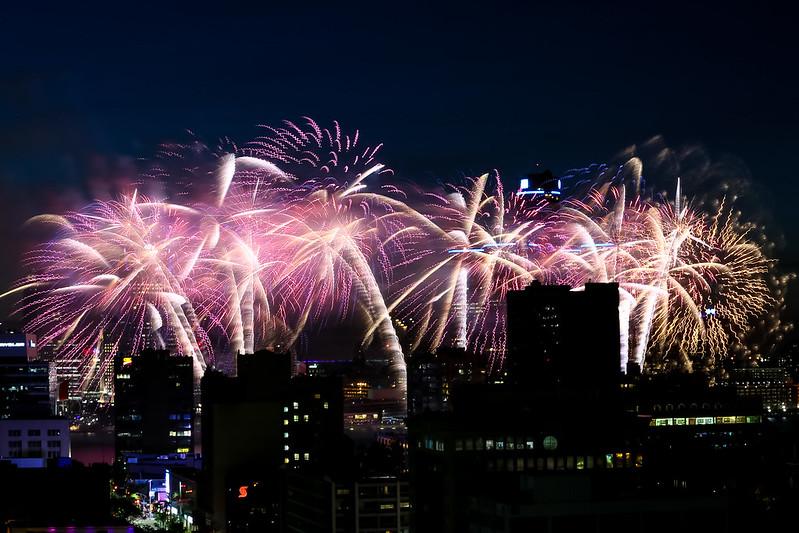 2018 Detroit / Windsor Fireworks