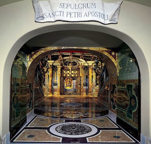 mormantul Sfantului Apostol Petros