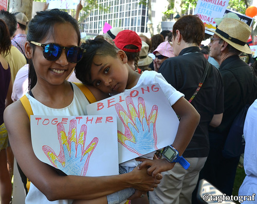 Families Belong Together Protest: Favourite Shot