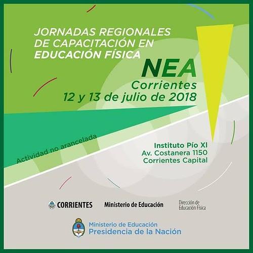 INVITACIÓN A JORNADAS NEA FLYER
