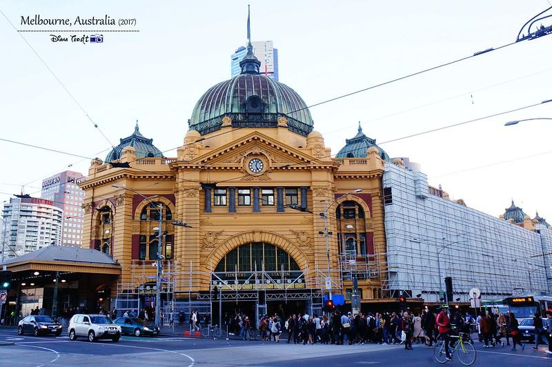 2017 Australia Melbourne Day 1 Flinders Street Railway Station