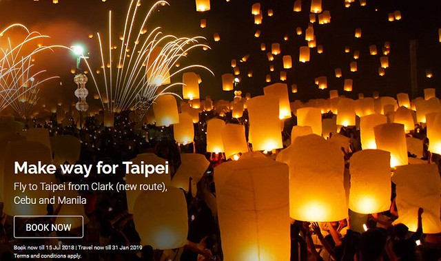 AirAsia Make Way for Taipei Promo