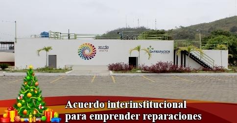 Acuerdo interinstitucional para emprender reparaciones
