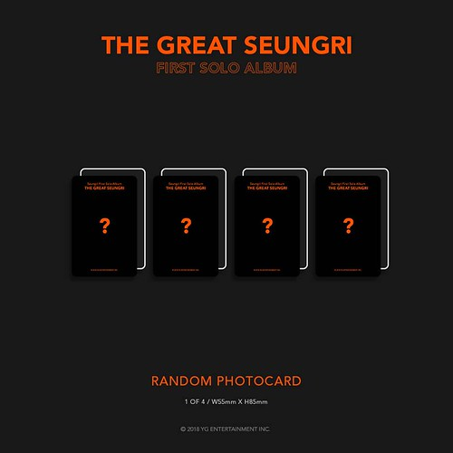 Seungri THE GREAT SEUNGRI Solo Album 2018 (15)