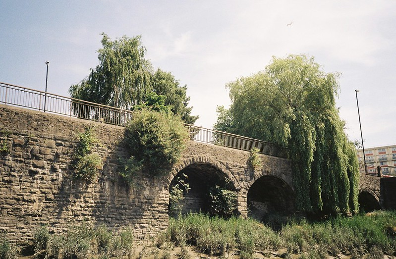 The Bedminster Bridge roundabout