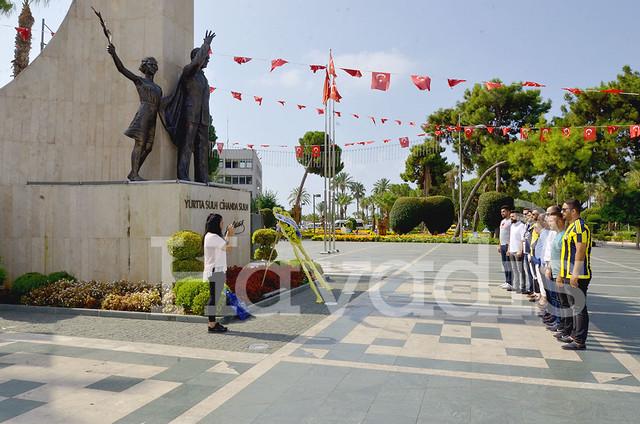 Alanya'da 'Dünya Fenerbahçeliler Günü' kutlanıyor