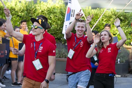 WUC_SportClimbing_Poland_Opening_Ceremony_Walk