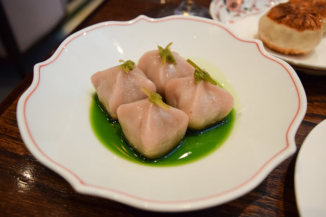 Sweet Potato Dumplings at XU, Chinatown
