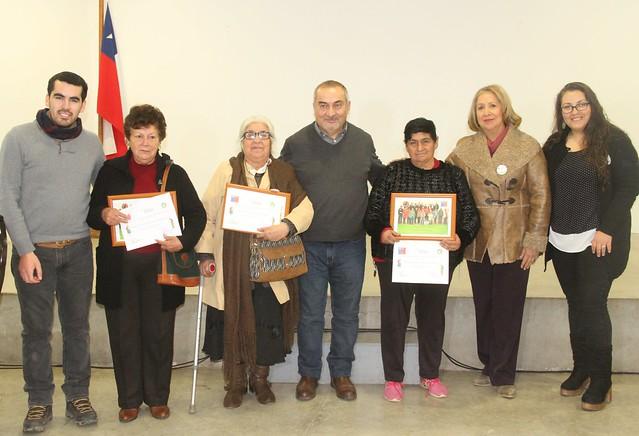 Adultos Mayores de Coltauco dieron la bienvenida a nuevos integrantes del Programa Vínculos 2018