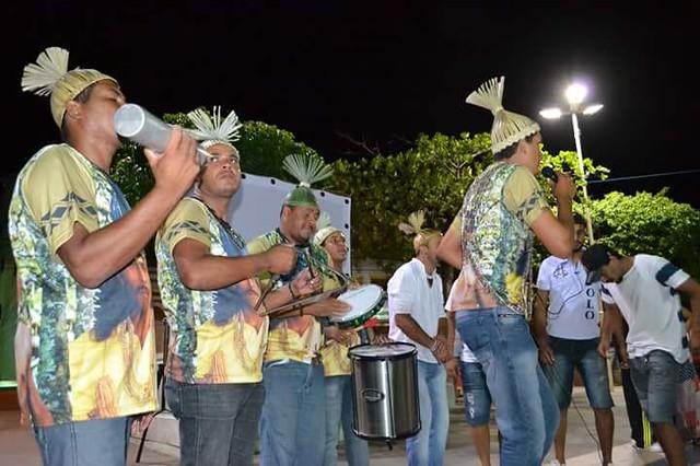 Grupo de samba de coco indígena do povo Xukuru, de Pesqueira, fará show gratuito - Créditos: Divulgação