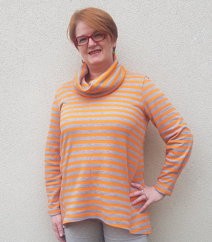 Style Arc Freya tunic in french terry from Clear It