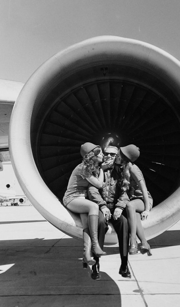 PSA flight attendants, circa 1970s. (SDASM Archives) 03