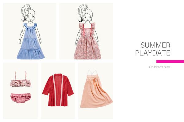 Summer Playdate Kids Collection