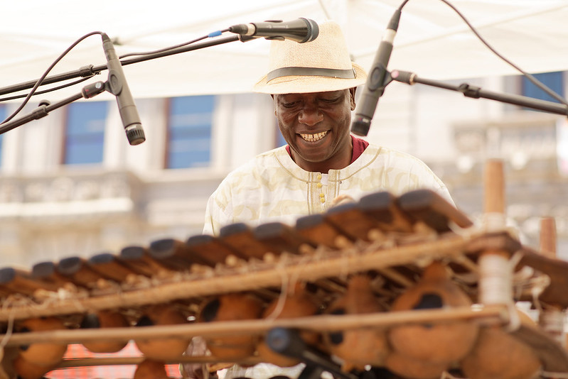 Balla Kouyaté - Crocodile River Music Playing Downtown Worcester