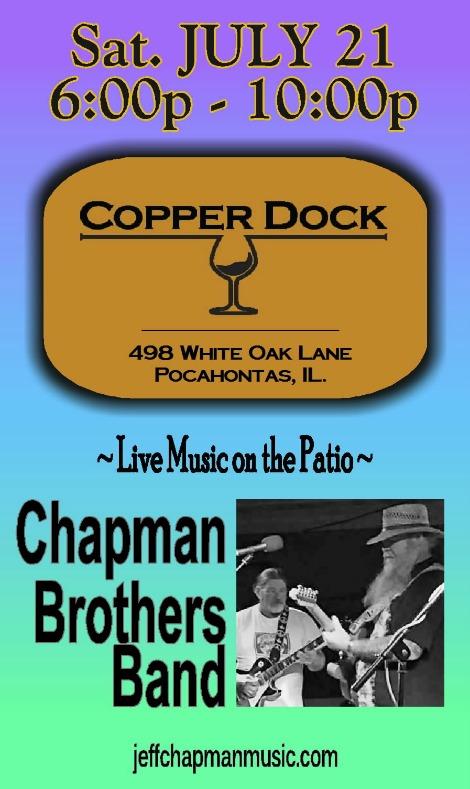 Chapman Bros Band 7-21-18