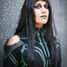 Hela cosplayer at ExCeL London's MCM Comic Con, May 2018