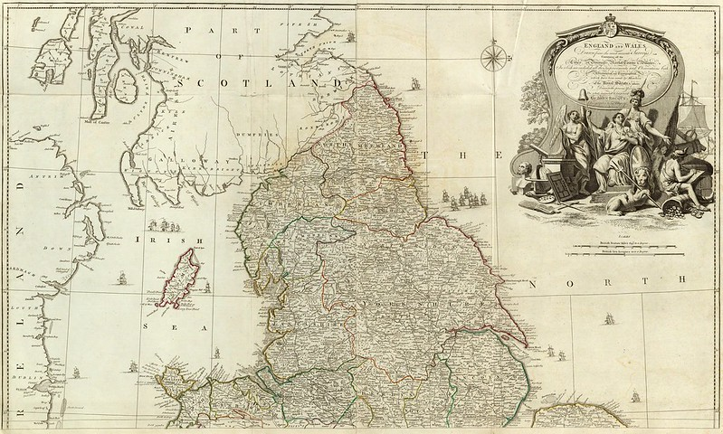 John Rocque - England and Wales (1790)