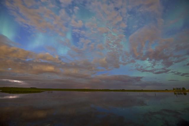 Mid Summer night sky