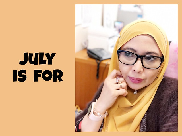 July is for