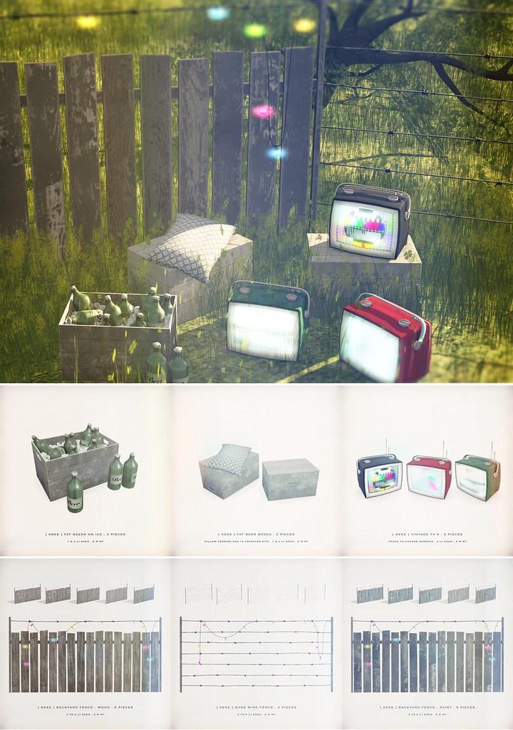 [ keke ] backyard collection vol 1 - TeleportHub.com Live!