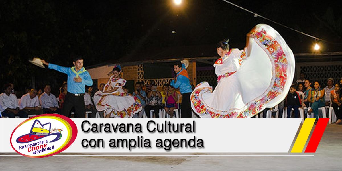 Caravana Cultural con amplia agenda