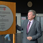 Unveiling the new plaque for the re-opening of Preston Bus Station - 23