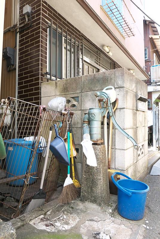広尾の井戸ポンプ
