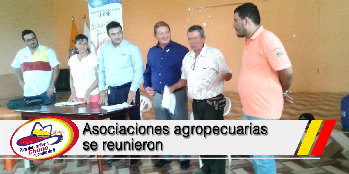 Asociaciones agropecuarias se reunieron