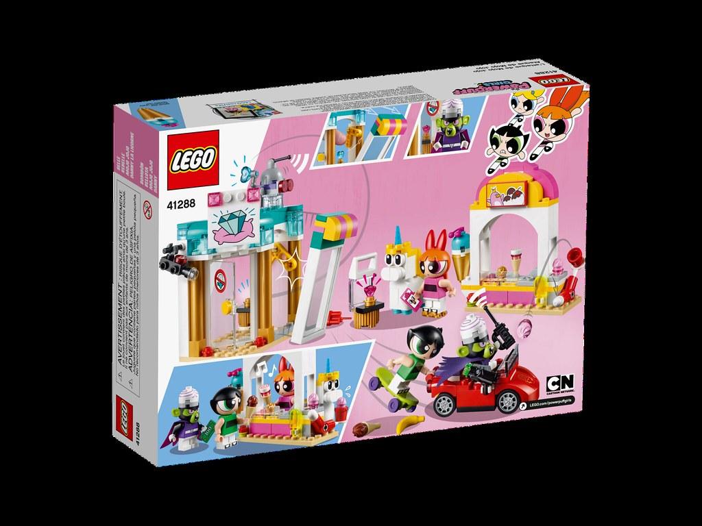 lego powerpuff girls 41288 mojo jojo strikes 41287. Black Bedroom Furniture Sets. Home Design Ideas