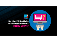 Do High PR Backlinks From Blog Comments Really Work