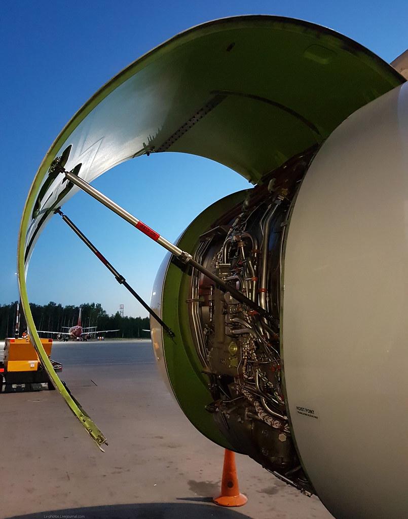 Капоты двигателя IAE V2500