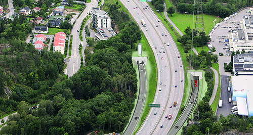 COMSA will build two access tunnels to the E4 motorway in Stockholm (Sweden)