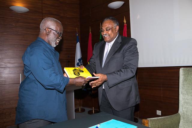 """18.06. Lançamento do livro """"Os Conflitos em África e a Experiência de Angola na sua Resolução"""""""