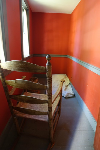 Birthing room in Cossit House. From History Comes Alive in Sydney, Nova Scotia