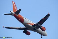 OE-LQV - 4125 - Easyjet - Airbus A319-111 - Luton M1 J10, Bedfordshire - 2018 - Steven Gray - IMG_6896