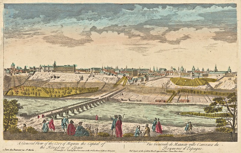 A general view of the city of Madrid the capital of the kingdom of Spain (1752)