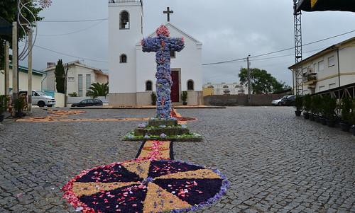 Tapetes - Srª Auxiliadora, Stª Bárbara e S. Vicente