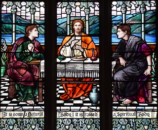Supper at Emmaus (Mary Lowndes, 1920)