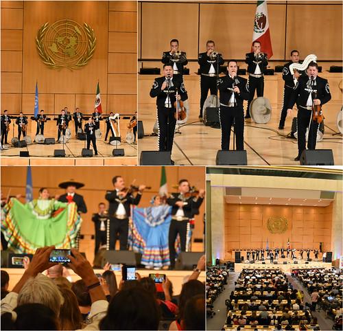 La cultura y las tradiciones mexicanas se presentan en Ginebra con el Mariachi Vargas de Tecalitlán