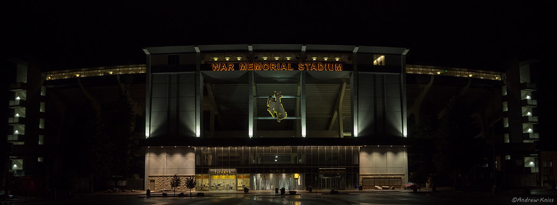 War Memorial Stadium in Laramie Wyoming