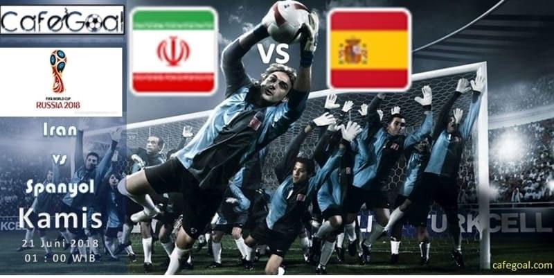 Prediksi Bola Iran vs Spanyol , Hari Kamis 21 June 2018 – Piala Dunia
