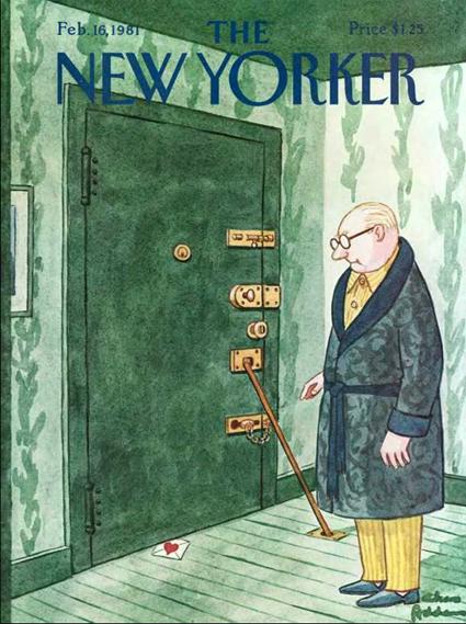 15i04 New Yorker, 16 febrero 1981, Charles Addams
