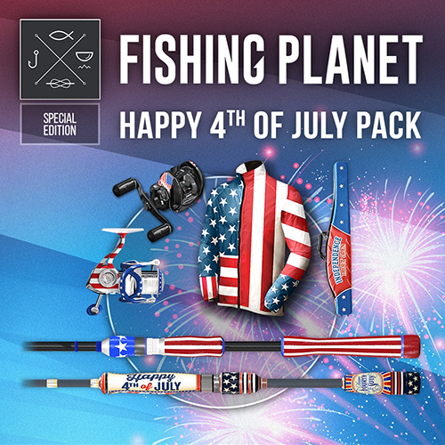 Fishing Planet: Happy 4-th of July Pack
