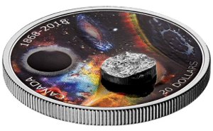 Royal Canadian Mint meteorite coin