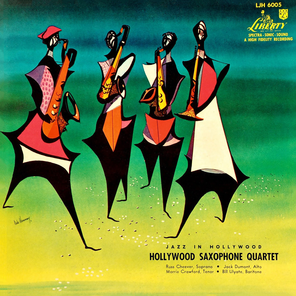 Hollywood Saxophone Quartet - Jazz In Hollywood