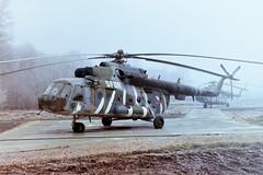 Mi-17 0836 c/n 108M36 Czech Republic Air Force. Banja Luka/ Metal Factory. Bosnia, January 2001. With SFOR, Stabilisation Force in Bosnia and Herzegovina markings.