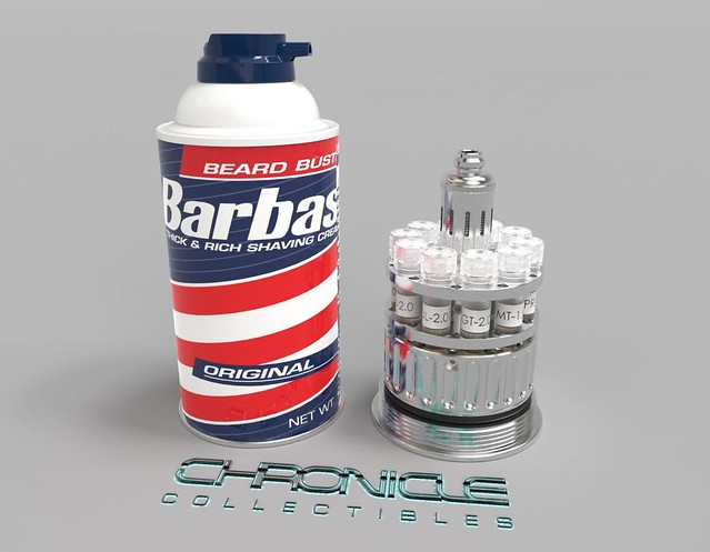 Capture the Dinos with the Barbasol Can Replica from Chronicle Collectibles!