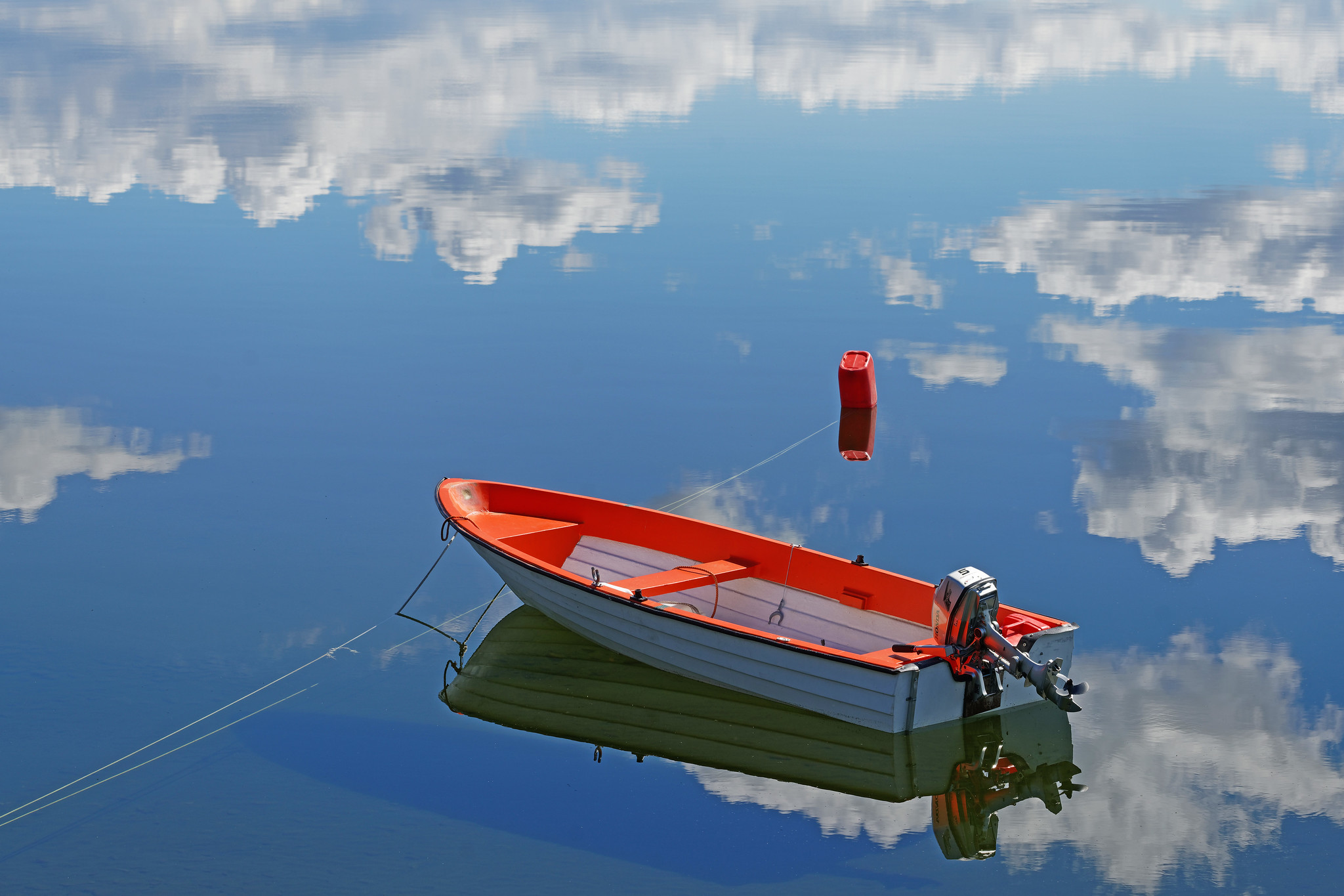 Boat In The Clouds