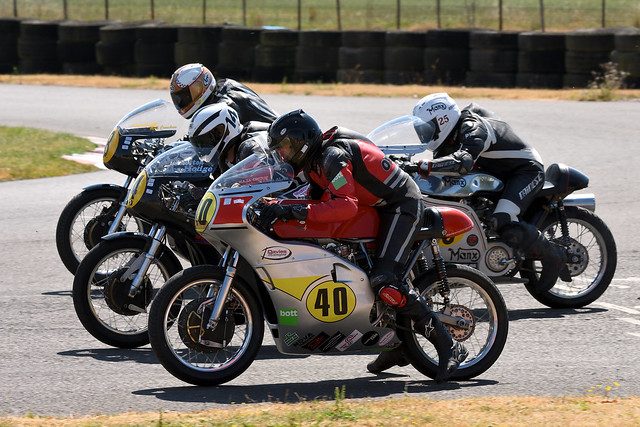 Darley Moor CRMC 2018 - Alan Oversby #40, Lee Hodge #14, Richard Molnar #25 & Mark Cronshaw